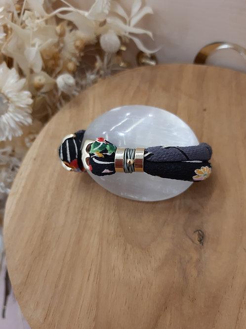 Bracelet ANCLA noir
