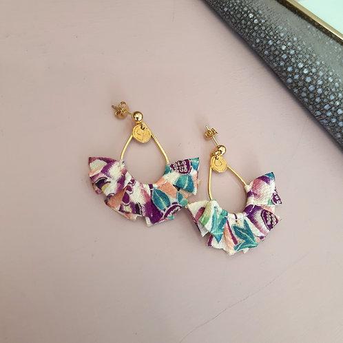 Boucles d'oreilles SAKURA ( modèle unique )