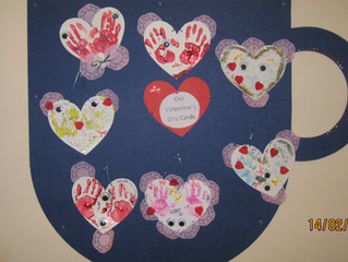 Happy Valentine's Day from  Secondary 4