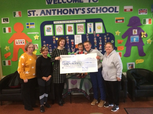 Thank you to Curley's, Ballyhaunis for their kind donation of €685 to our school.