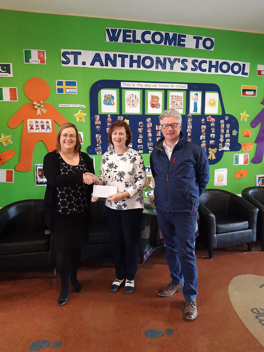 Thank you to Top Oil Castlebar for your generous donation to our school.