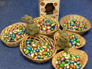 HOP-PY EASTER!! All ready for Egg Hunt!!