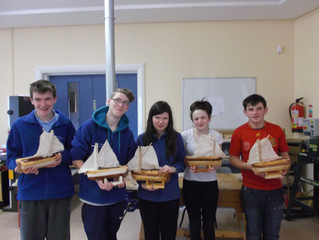 Sails Away in St. Anthony's!!