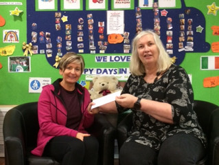 Donation to Hospice