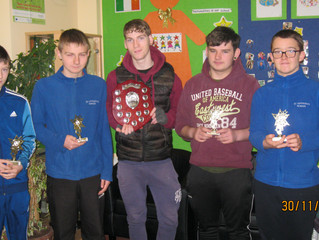 Congrats to Keith, Lee, Henry, Ian and Charlie who won at the ISSSC blitz