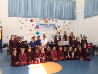 Thank you very much to St. Angela's School 2nd Class pupils who kindly donated some of  their Fi