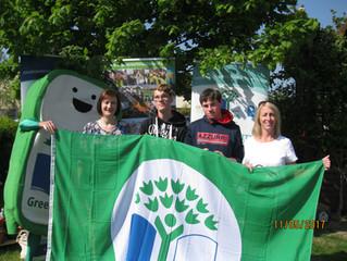 6th Green Flag Presentation