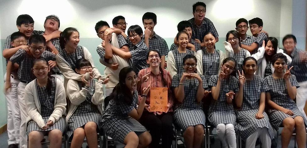HKMA David Li Kwok Po school, Hong Kong  Holland Carson '17 - Creative Writing