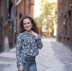 Lindsay Christianson in Pioneer Square