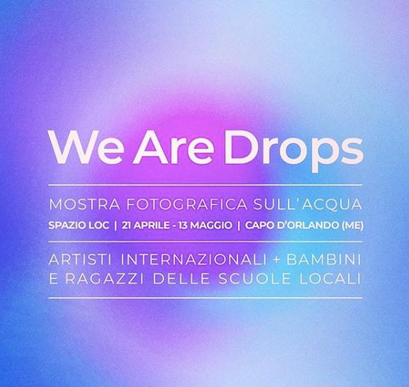 """イタリアで写真展!水をテーマにした写真展 """"We Are Drops""""開催決定"""