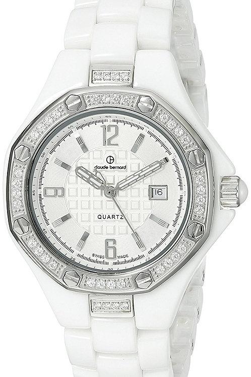 Reloj Claude Bernard Mujer Con Cristales Swarovski C54002BB