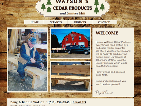 Watson's Cedar Products
