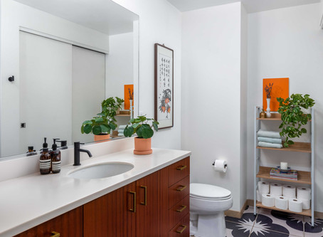 My Renter-Friendly Bathroom Makeover