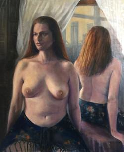 Nude and Mirror Reflection