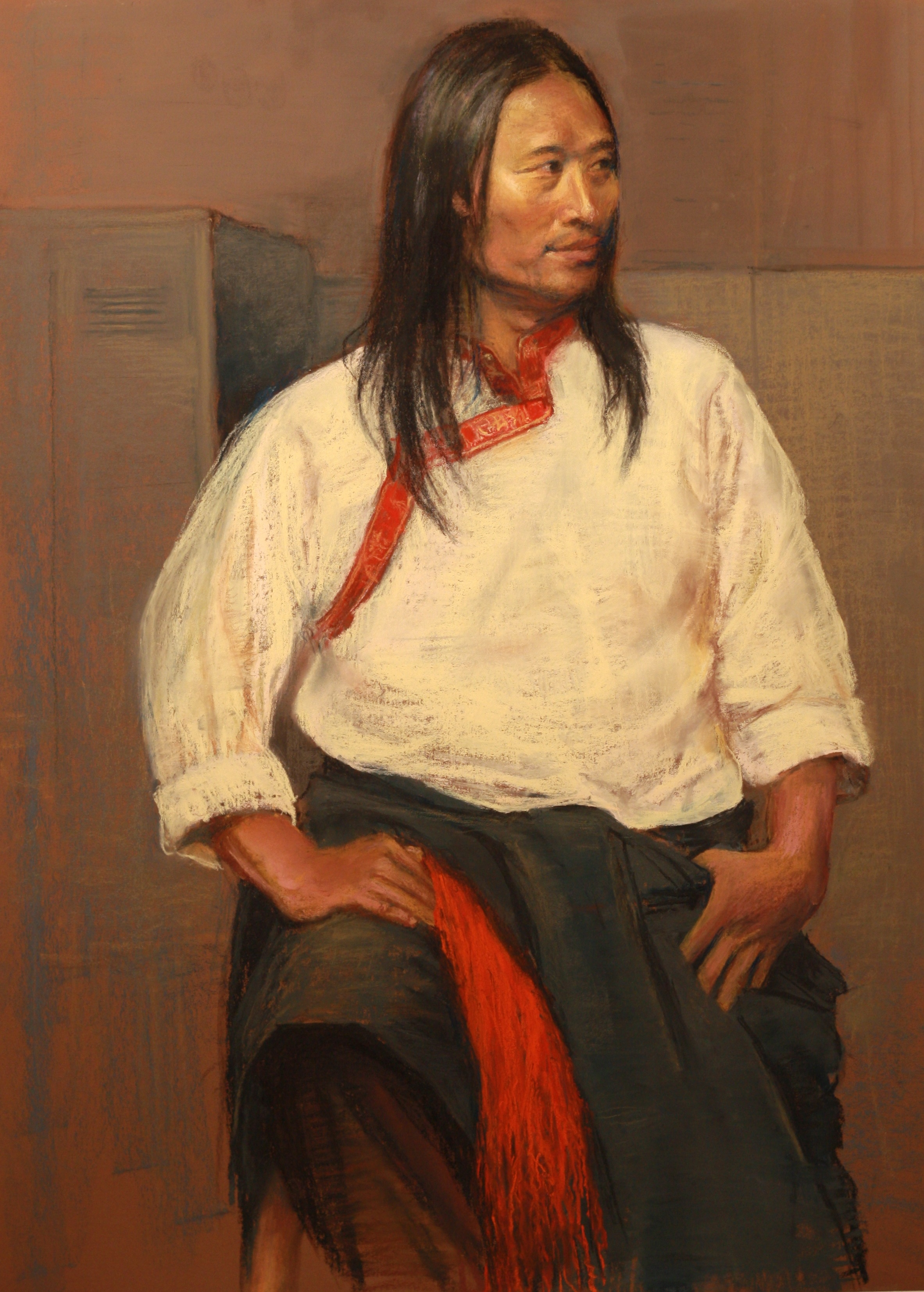 Portrait of a Tibetan