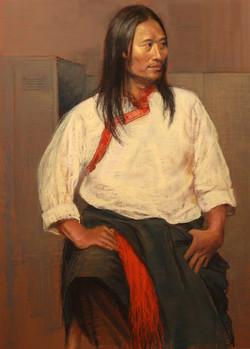 Portrait of a Tibetan