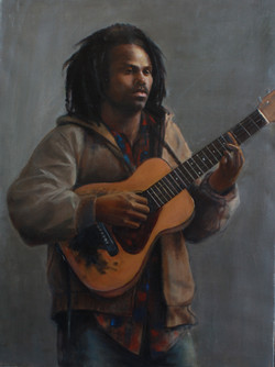Young Man with Guitar