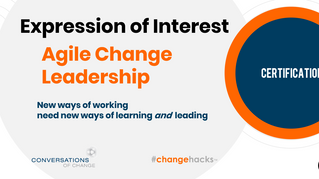 Introducing the Agile Change Leadership Certificate