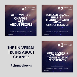 Three universal truths about change