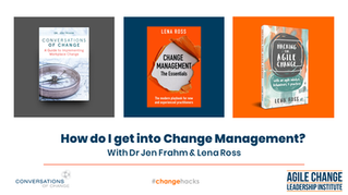 How to get into change management