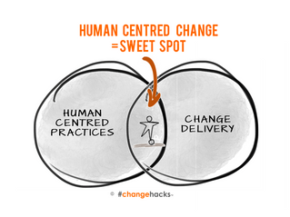 Delivering human-centred change