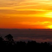 Sunset at Mt. Soledad
