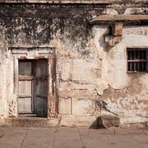 Abandoned and barren...