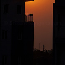 A balcony that 'captures' the Sunset