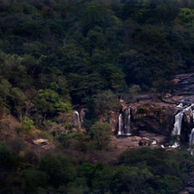 Light, Shade and waterfall