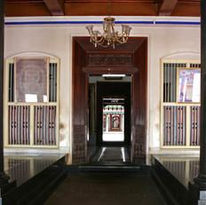 Corridor in Chettinad palace