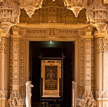 One of the Jain Tirthankars in a temple inside Jaisalmer fort