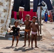 Children in slums