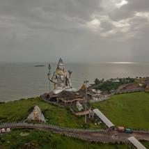Shiva statue at Murudeshwar