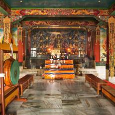 Buddhist Prayer hall