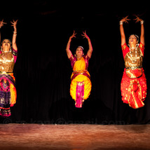 Bharatanatyam - A coordinated jump...