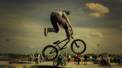 Fahrrad Stunt - Wow!