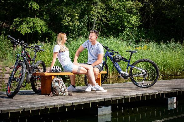 Fahrradpause am Tegernsee