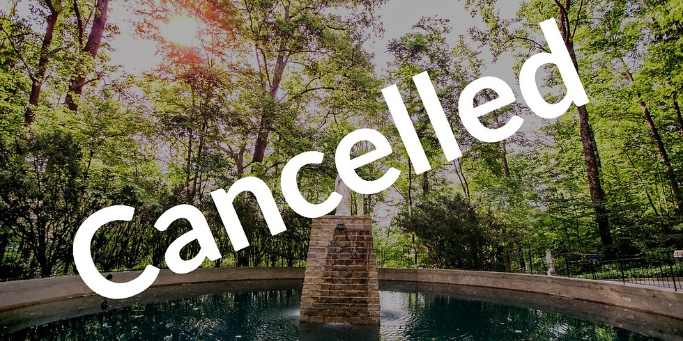 CANCELLED Grotto Pilgrimage