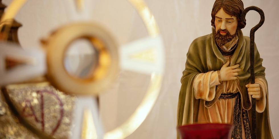 St Joseph Feast Day Mass and Adoration Registration