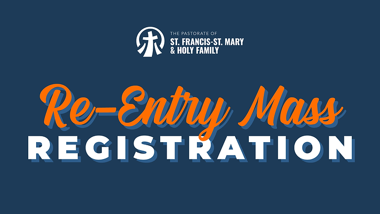 Re-Entry Mass Registration
