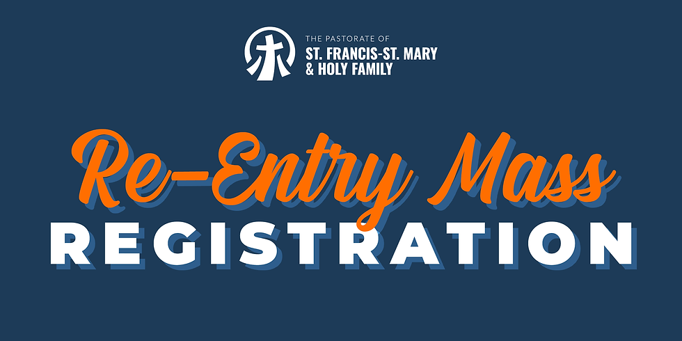 Re-Entry Mass Sign-up