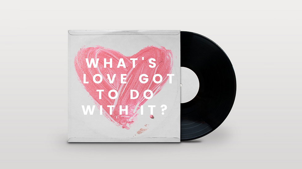 What's love got to do with it_ - connect
