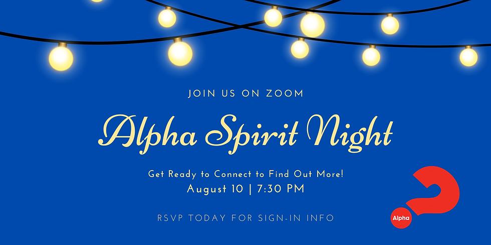 Alpha Spirit Night