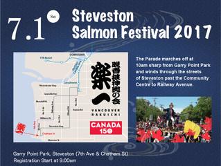 Steveston  Salmon Festival 2017