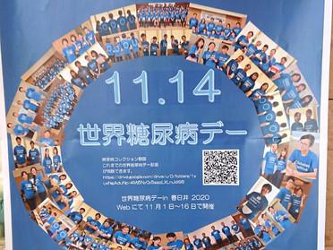 11月14日は世界糖尿病デー