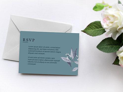 Florence RSVP Card