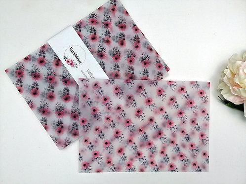 Flowers Vellum Envelope