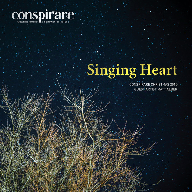 Singing Heart: Conspirare Christmas 2015
