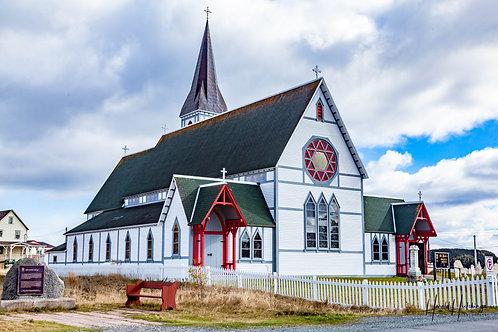 St. Paul's Anglican Church in Trinity, Trinity Bay, Newfoundland