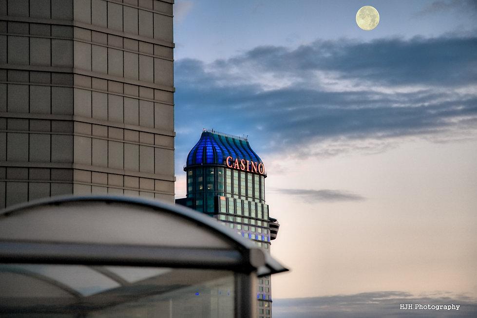Fallsview Casino early morning in Niagara Falls